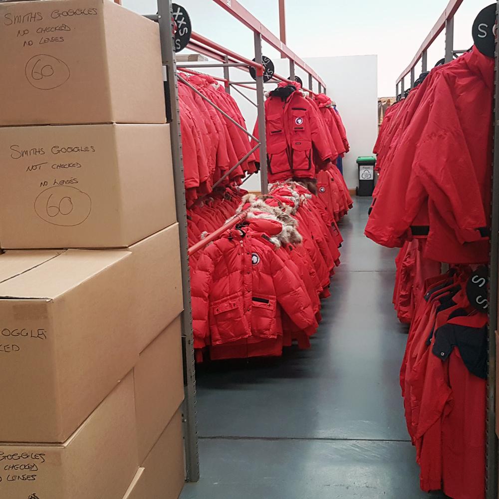 """Big Red"" Canada Goose Down Parka – Worn In Antarctica"